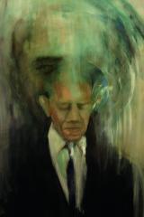 Obama 2012 acrylic 62″ x 50″