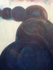 Black Pearl, 2016 acrylic 48