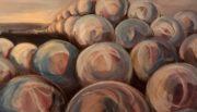 Sphere #3, 2018 acrylic 48