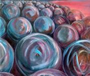 Sphere #1, 2018 acrylic 44